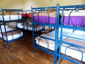 hostel mit mehrbettzimmer
